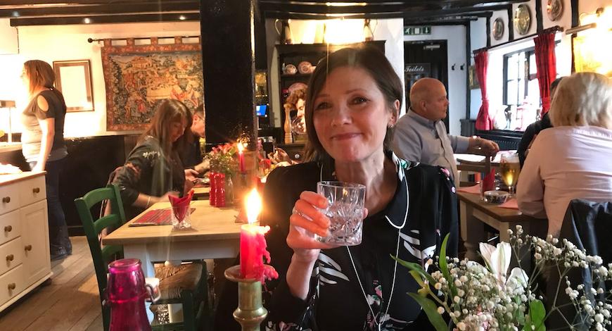 Helen Ballard Three Shires Reflexology Tutor