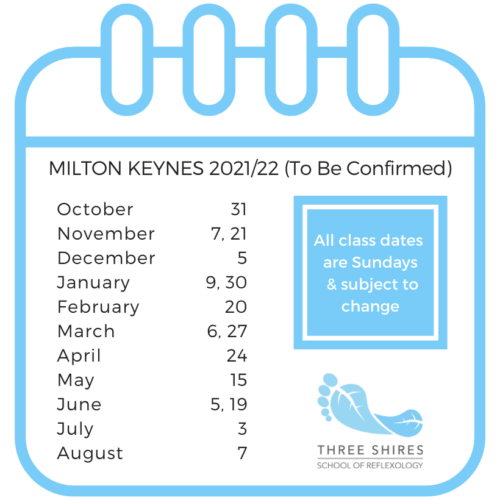 three-shires-reflexology-school-dates-milton-keynes-2021-22